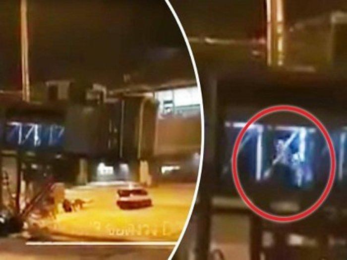 空港で大勢の幽霊乗客員「ゴースト・パッセンジャー」が激写される! 墜落事故で死亡した乗客の集団か?=タイ