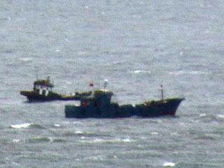 【南北の緊張高まる中、中国船がワタリガニ密漁で丸儲け!「獲れるものはなんでも獲っていく」