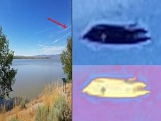 アメリカで「漆黒の円盤型UFO」が激写される! 元米空軍兵士も「こんなものは見たことがない」