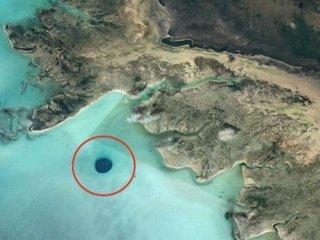 """【西インド諸島で""""宇宙人基地""""のUFO出入口(直径500m)が発見される!! グーグルアースで発覚、研究家断言「海は最高の隠れ場所」"""