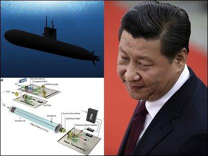 """日本ピンチ!? 中国が「水中での量子テレポーテーション実験」に成功! 潜水艦の""""盗聴不可能""""な量子暗号通信に応用か"""