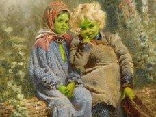 全身緑色の肌をもつ兄妹、一家全員真っ青な一族…人類史上最も「奇妙な色の肌」をした人々5例!