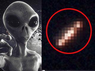 """【衝撃】米大学が公開した写真に本物の""""葉巻型3点UFO""""が映り込む! NASA宇宙飛行断言「彼らは他の惑星から来ている」"""