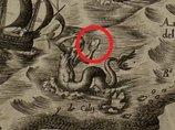 【衝撃】450年前の地図に「UFOを手にしたマーメイド」がハッキリ載っていた! 陸地には身長3~4mの「パタゴニアの巨人」も!