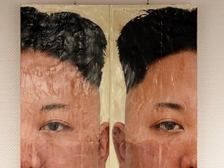 【開催告知】大北朝鮮帝国展「切断芸術」が首領様をぶった切る! 「1000年残るモニュメント」「芸術理論なんか糞食らえ!」(現代美術家・生須芳英)