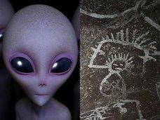"""【ガチ】新発見されたカリブの洞窟壁画に""""宇宙人の肖像""""が多数描かれていた! 学者「この洞窟は現実と精神世界をつなぐポータル」"""