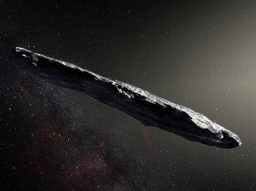 【ガチ】葉巻型の小惑星! 史上初太陽系外から飛来した「Oumuamua(オウムアムア)」に監視型UFOの可能性が浮上!