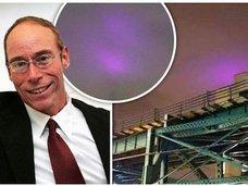 NYでUFO召喚に成功 紫色のUFOに追いかけられた