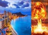 ハワイに行った芸能人が無謀すぎる! 全島が北朝鮮核ミサイルのターゲット「15分で着弾、1万8千人が即死」と当局予想