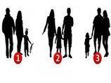 """【心理テスト】""""偽の家族のシルエット""""を選んでわかるあなたの家族観! 最も家庭に向いてないのは…?"""