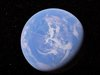 グーグルアースに「地球を縦断する巨大な白線」が出現! UFOか、2万キロの飛行機雲か議論沸騰!