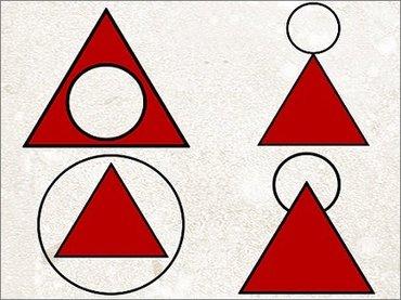 【心理テスト】「三角形と円の組み合わせ」を描くだけでわかる性格診断が当たりすぎ! 心理学的に解説