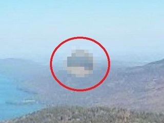 """【衝撃画像】米の湖畔に謎の""""透明球体UFO""""出現、グーグルマップが激写! 2年前からNYでUFO急増、調査団も困惑!"""