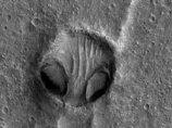 【衝撃】NASAが火星で「クリセ・エイリアンの顔」を激写! 100%宇宙人の姿…ナスカの地上絵とも関連か!