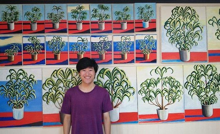 アレフ元信者の画家・太久磨が描き続ける「自画像としての植物」がヤバすぎる! 修行と超絶神秘体験による最尖端アウトサイダーアートを語る!