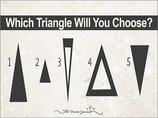 【心理テスト】選んだ三角形でわかる「本当の性格診断」がマジで当たる! 偉業を成し遂げるタイプは…!?