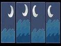 """【心理テスト】どの""""月の絵""""が好きかで分かる「隠れた性格」が当たる!15%しか選ばない絵を選ぶと…!?"""