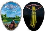 【速報】カナダ政府が「UFOの絵」が描かれた20ドル硬貨を発表! 同国で最も有名な「ファルコン湖UFO事件」がモチーフ!