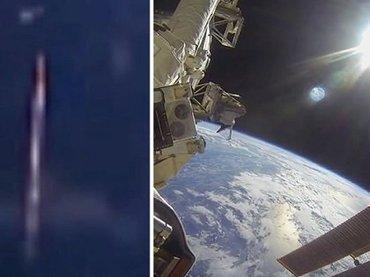 """【衝撃動画】ISSが宇宙空間で「早歩きの人(ファストウォーカー)」を激撮! 地球に向かう""""謎の爆速UFO""""の正体とは?"""