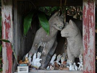 【廃墟】祠やお稲荷さまの「墓場」を青森県で発見! 取材中に謎の男と遭遇し、トンでもなく不吉な事態に…!