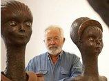 UFO体験を芸術作品に昇華するスペインの大御所アーティストに感動! 「声なき体験者たちに勇気を」エイリアンとの共生を訴える