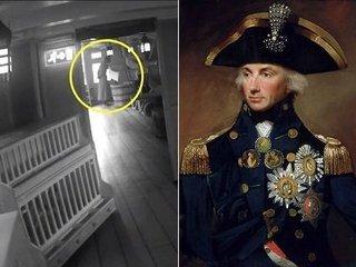 【衝撃動画】ネルソン提督の幽霊がガチで激撮される! 誰もいない軍艦に現れた鮮明すぎるゴーストに全英震撼!