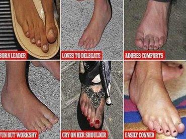"""【診断テスト】足の形で""""本当の性格""""がわかる「フットリーディング」が当たる! あなたはどのタイプ…セレブの足も解説!"""