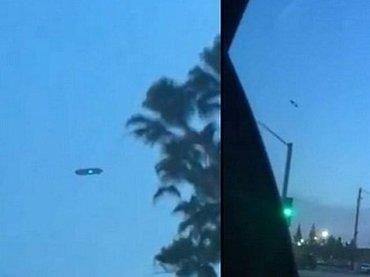 【衝撃】「ドローンじゃない、UFOだ」という声多数! 謎の光を発する「爆速ルンバ型UFO」が超くっきり激写される!=米