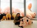 デパートメントH「大ゴム祭」での新作が大反響! ラバー美術家「サエボーグ」のフィラデルフィア&NY紀行