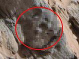 【衝撃画像】火星で「顔デカ宇宙人の骸骨」としか思えない化石が発見される! 目、アゴ、歯がクッキリ…議論の余地なし