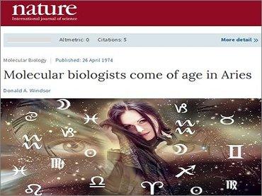 """科学誌ネイチャーが占いの""""ガチ論文""""を掲載! 分子生物学者には本当に牡羊座が多いのか… 独自検証で衝撃結果に!"""