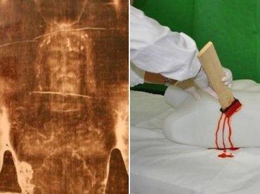 """「トリノの聖骸布」はやはりフェイクなのか!? 槍で突かれた脇腹から流れるイエスの血が… 最新""""血痕分析""""の結果がヤバすぎる!"""