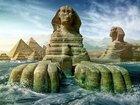 【ガチ速報】幻の「2体目のスフィンクス」がエジプトで発見される! 地下に「ライオンの体に人間の顔」当局公認、伝説が現実に!