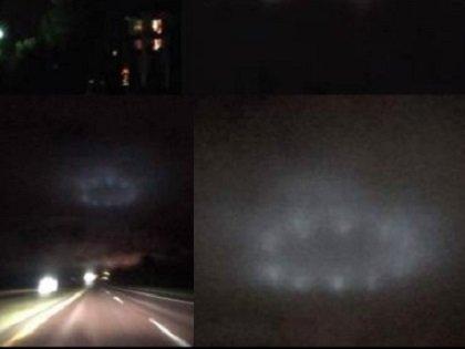 【衝撃動画】WTF!! 夜空で環状に並んだ12の光… ガチの円盤UFOが美しすぎて叫ぶレベル! 4分間動かず、突然消えたYO!