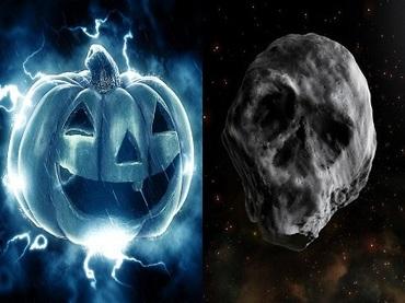 【悲報】人類滅亡のため、今年が最後のハロウィーンになる! 巨大ドクロ型隕石が爆速で地球に接近中、壊滅的被害に!?