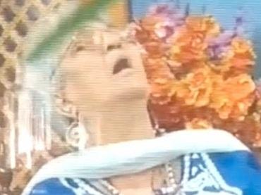【閲覧注意】「死にたい」と語った直後にTVの生放送中に突然死! 死を予知したのか…天を仰いで心臓が止まる決定的瞬間!