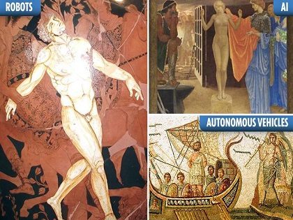 「AI、アレクサ、自動運転は古代ギリシアが起源」スタンフォード大教授がマジ主張! 当たりまくる古代未来予測に戦慄!