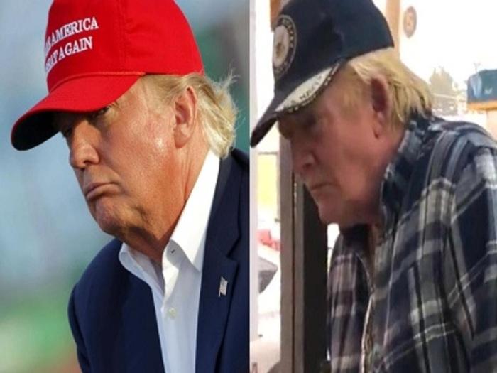 【衝撃】トランプ大統領のドッペルゲンガー出現! 「パラレルワールドから来たよう」突然死の暗示か!?