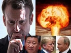 """【緊急】「本物のヨーロッパ軍が必要」仏マクロン大統領が""""第三次世界大戦""""勃発をガチ確信か! 米中露との全面核戦争目前、本気やばい"""