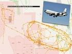エリア51上空で9月20日に「謎の航空機」が異常飛行していたことが発覚! 4時間ぐるぐる回って… 航路判明、米軍製UFOに給油か!?