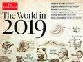 『エコノミスト2019』表紙に描かれた3つの経済予言、専門家が解説! PayPay、ロスチャイルド、NWO、第三次世界大戦…!!