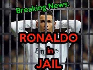 【速報】クリスティアーノ・ロナウド逮捕、懲役2年の判決! 19億円の脱税容疑で選手生命も終わりか!?