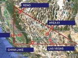 60年で2000の飛行機が消えた魔の空域「ネバダ・トライアングル」とは!? どんなベテランパイロットでも操縦不能に陥るミステリー