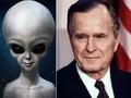 【追悼】父ブッシュは「史上最もUFOに精通する大統領」だった! CIA長官時代に全UFO機密にアクセス、激ヤバ情報も…