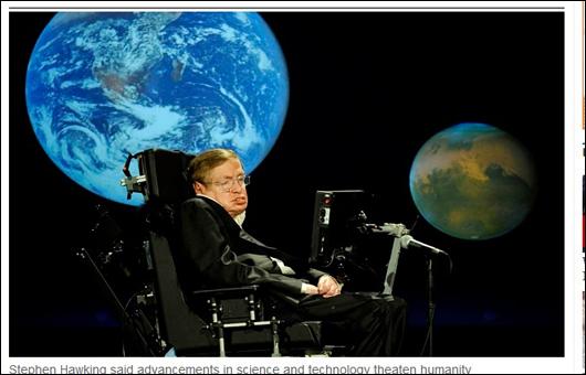 ホーキング博士の警告!! 「100年以内に人類は滅ぶ!」の画像1