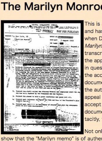 マリリン・モンローはエイリアン情報を暴露しようとして暗殺された!? CIA、JFK、ロズウェル… 葬られた闇と真犯人に迫る!の画像2