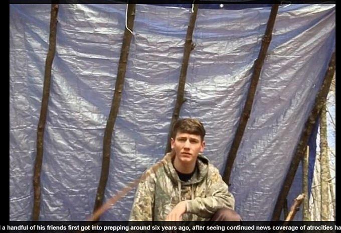 アポカリプスに備えて森で6年間サバイバル中の17歳少年!「地球はもうすぐ滅亡、黙示録は当たる」プレッパーを笑うな! の画像1