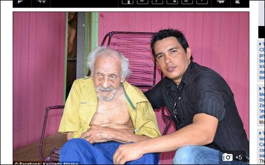 ブラジルの131歳の男が101歳で結婚。妻との驚愕の年の差は?の画像1