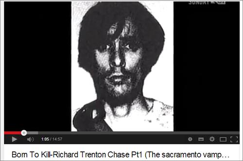【最狂の吸血殺人鬼】彫刻刀で切り刻み、血をすする!!   毒親育ちのリチャード・チェイス、悲しくも気味が悪すぎる人生とは?の画像1
