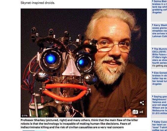 敵と民間人を見分けられない「殺人AIロボット(LAWS)」が1年以内に戦場へ!  大量虐殺が起きる可能性を専門家が示唆!の画像2